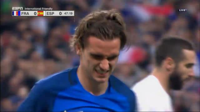 VAR denies Griezmann goal