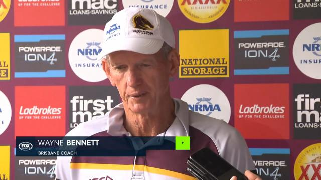 Bennet on NRL coaching drama