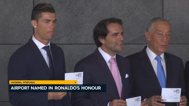 Airport named in CR7's honour