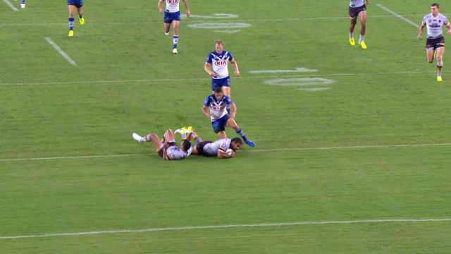 Thaiday wins race for try