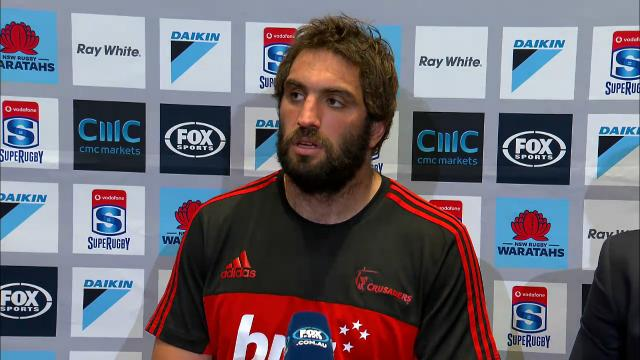 Crusaders press conference