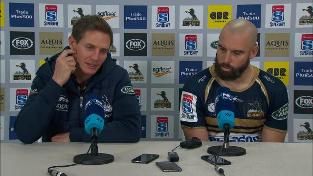 Brumbies press conference