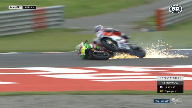 Espargaro takes out Dovizioso