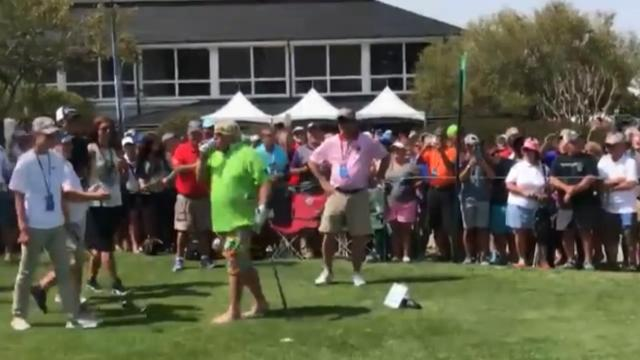 Daly shows off skolling skill