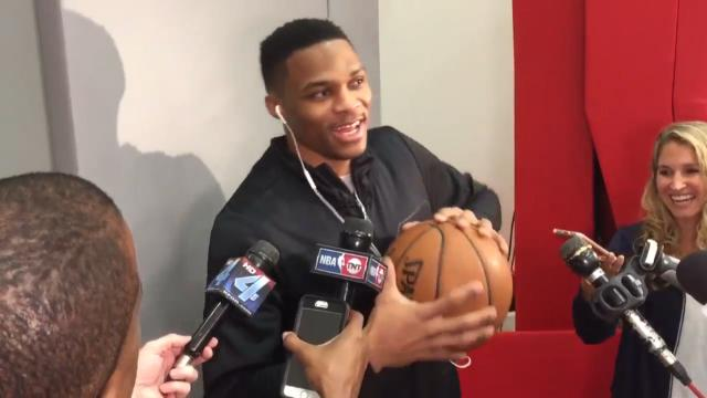 Westbrook talks about friends