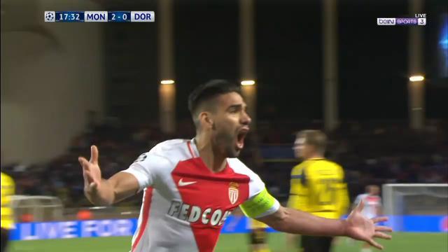 Falcao stunner nails Dortmund