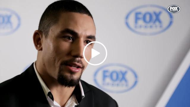 Whittaker talks massive win | Fox Sports Videos