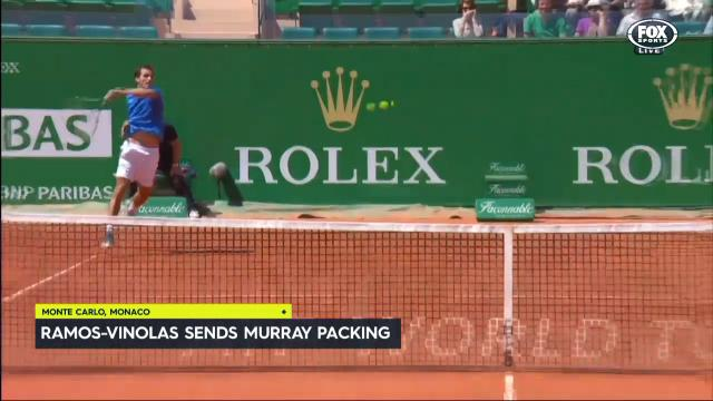 Murray makes early exit