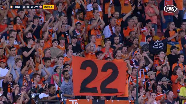 Broich gets standing ovation