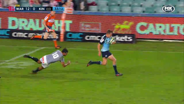 Clark calls son's first try