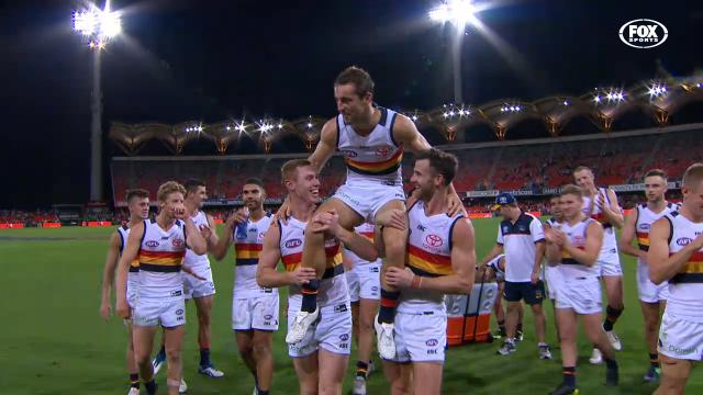 Crows obliterate Suns