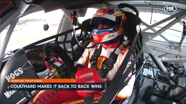 Coulthard wins at PI