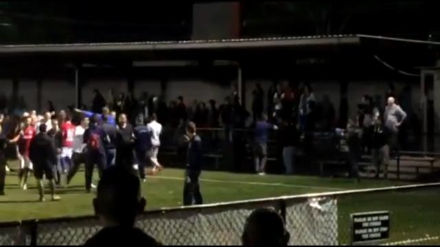 United & FC fans clash