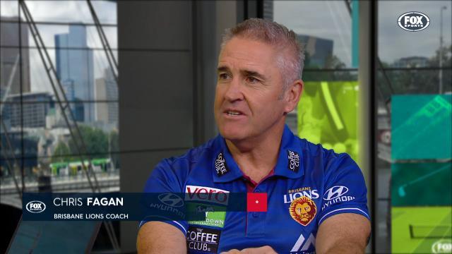 Fagan on Lions' tough loss