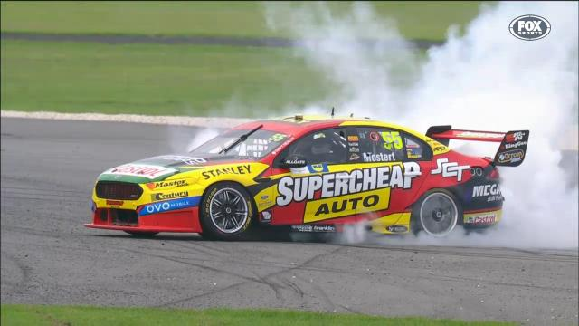 Mostert fined for burnout