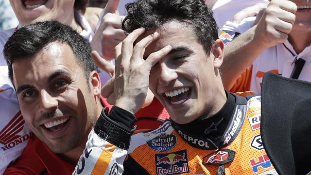 Marquez makes it a handful