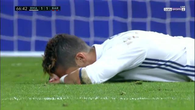 Ronaldo's outstanding miss
