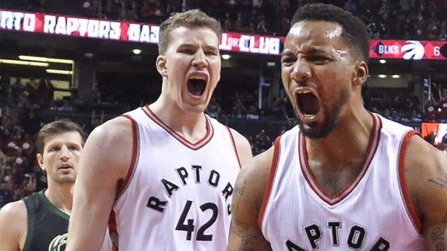 Raptors take series lead