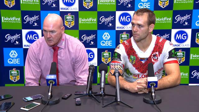 St George press conference