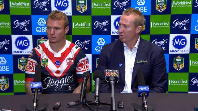 Roosters press conference