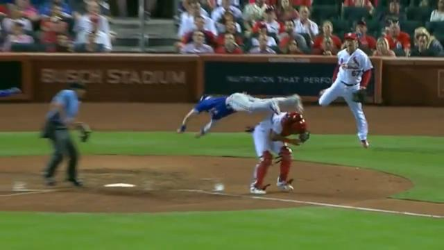 Coghlan's insane flip to home