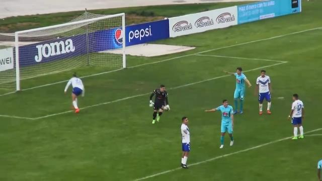 Keeper scores from own box