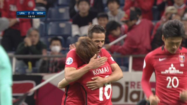 Urawa strikes early and often