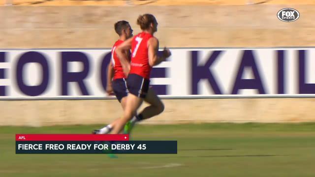 Dockers eyeing derby form