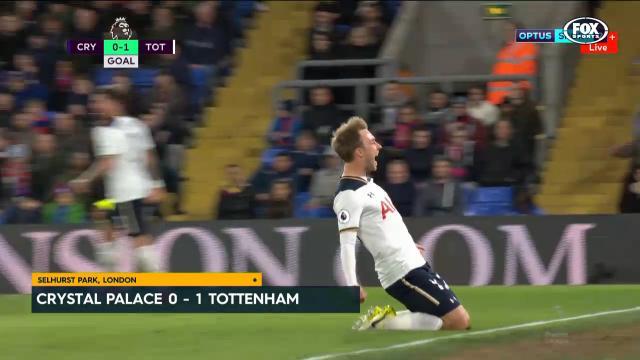 Eriksen goal gives Spurs life
