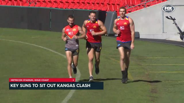 Key Suns to miss Kangas clash