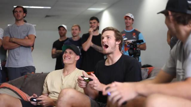 GWS plays AFL Evolution
