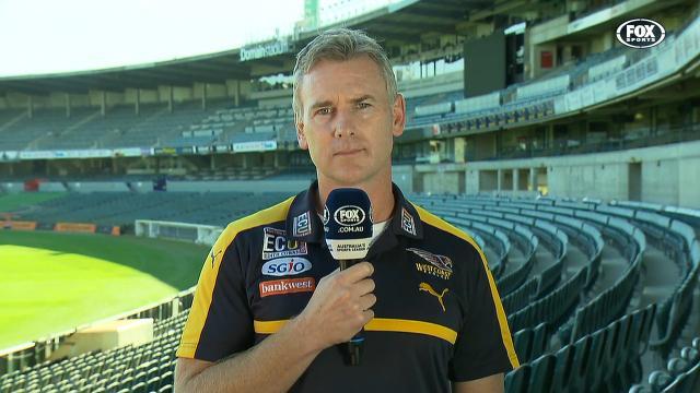 Simpson's honest Eagles chat