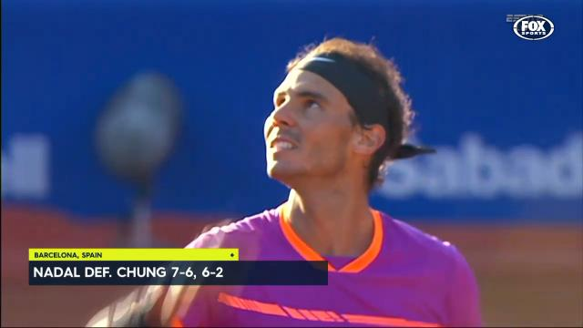 Nadal moves a step closer
