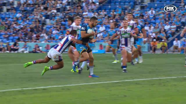 Hayne shows his talent
