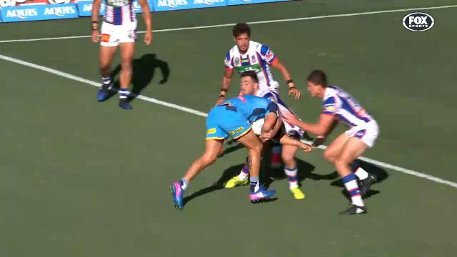 Hayne's NFL running back try