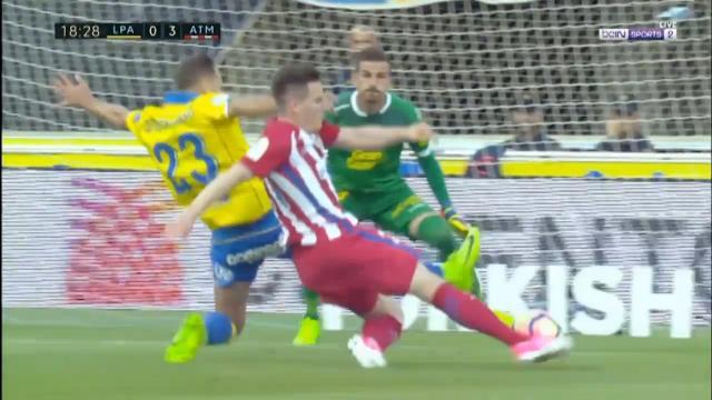 Report: Atletico score five