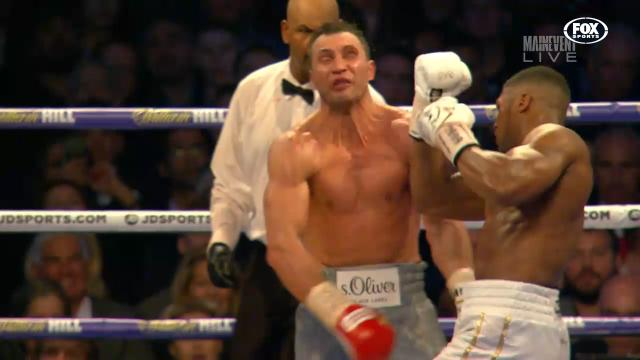 Klitschko dropped by Joshua
