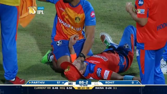 Tye stretchered off in IPL