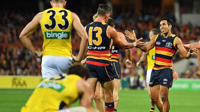 Crows stun Tigers in big win
