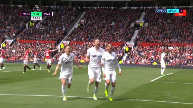 Swansea shocks Old Trafford