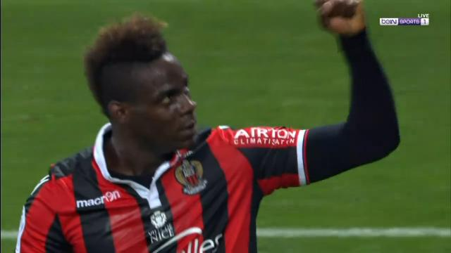 Balotelli helps Nice stun PSG