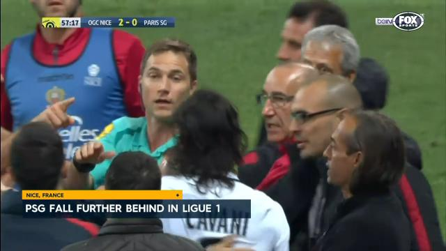 2 red cards blow PSG chances