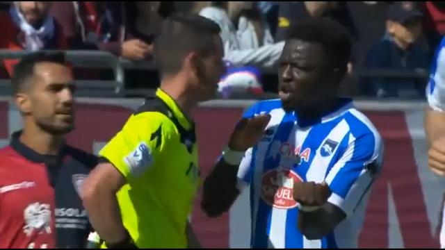 Racial abuse walk off
