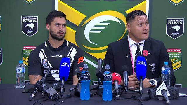 Kiwi press conference
