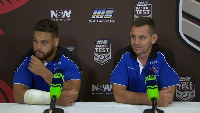 Samoa press conference
