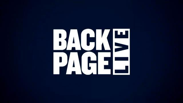 Back Page Live (09/05/17)