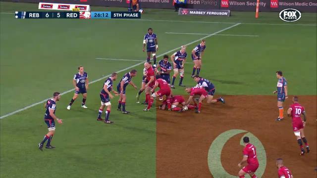 REB V RED: Match Highlights