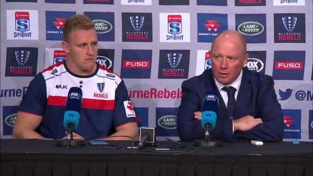 Rebels press conference