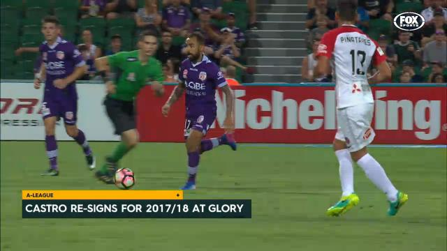 Castro stays with Perth