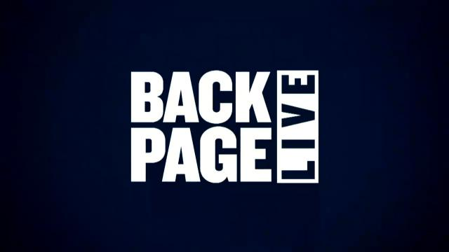Back Page Live (16/5/17)